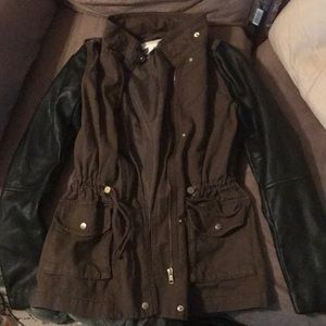 NWOT H&M military styled jacket!